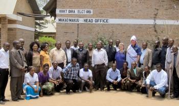 Missionärer avtackas