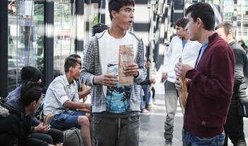 Ideell hjälp möter flyktingar i Malmö