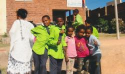 Många intryck när dövskolan i Asmara jubilerade