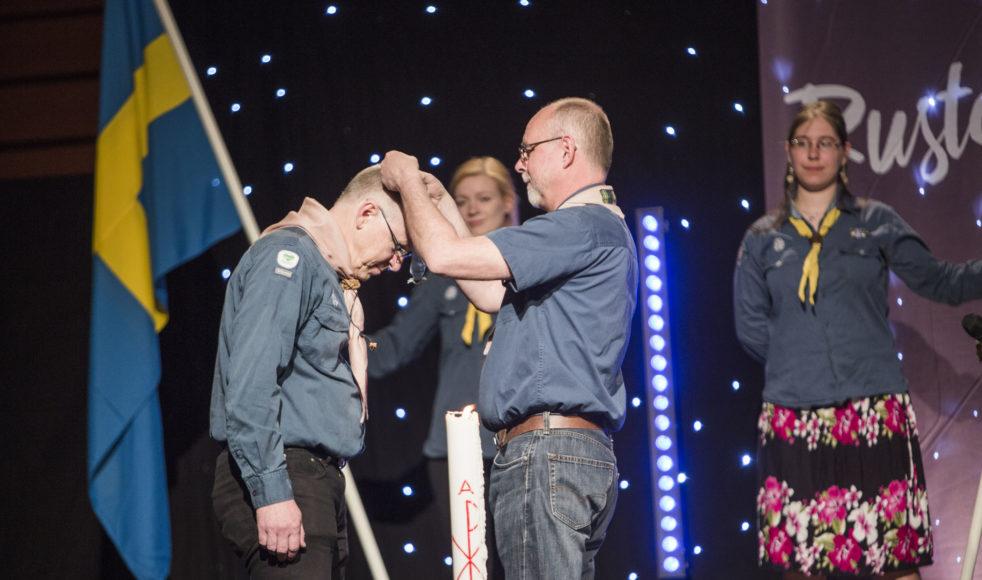 Fredagskvällen under EFS och Salts årskonferens tog en oanad vändning för Göran då han tilldelades Silvervargen.