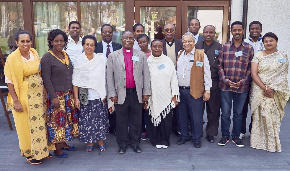 Samtliga internationella gäster vid partnerkonsultationen