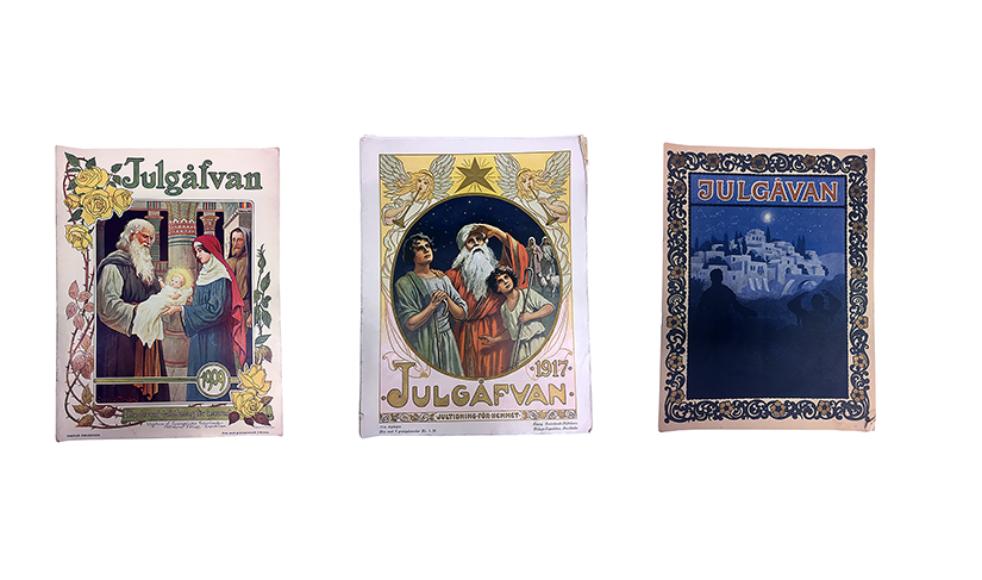 Efterlysning!  Har du gamla nummer av Julkärven? Tyvärr är några av våra arkivnummer av Julkärven skadade eller har anteckningar så vi söker exemplar till arkivet. År 1906, 1908–1910, 1914, 1921 och 1927. Hör av dig till: arkiv@efs.nu eller 073-6587042.