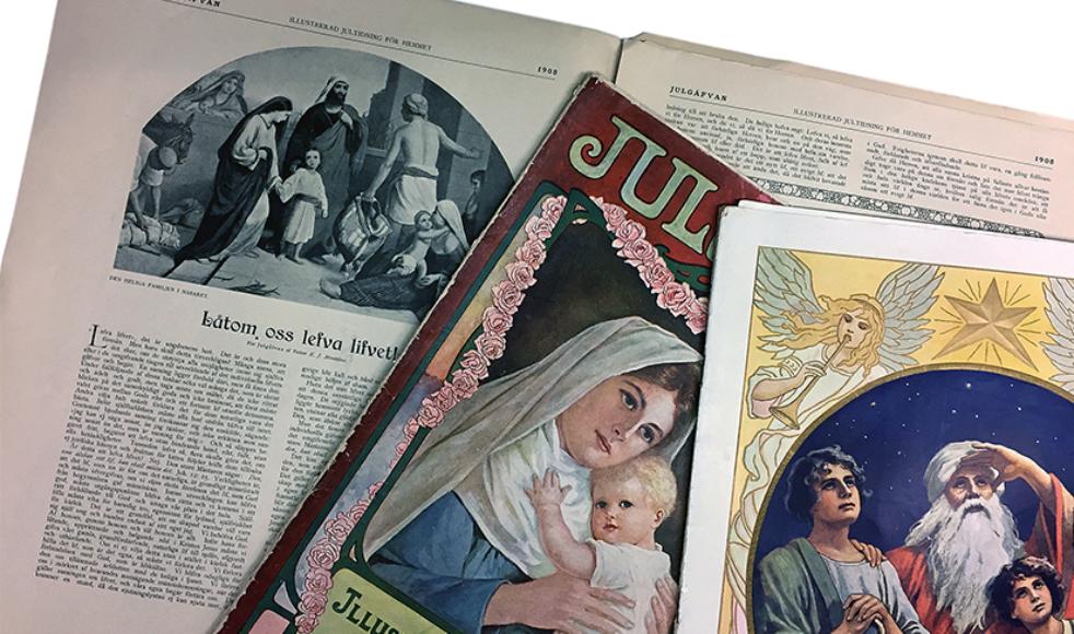 På EFS historiska webbsida, www.efsarkiv.nu finns vart tionde nummer av Julkärven, Julgåvan och Julottan – där kan man få uppleva sin barndoms jul igen, eller morfar och mormors jultidning.