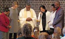 Stor dopgudstjänst och EFS första Oromotalande förening