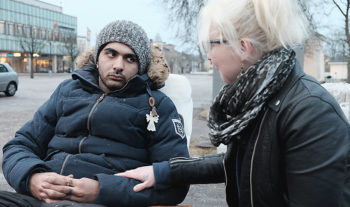EFS-medlemmen Hamid hungerstrejkar