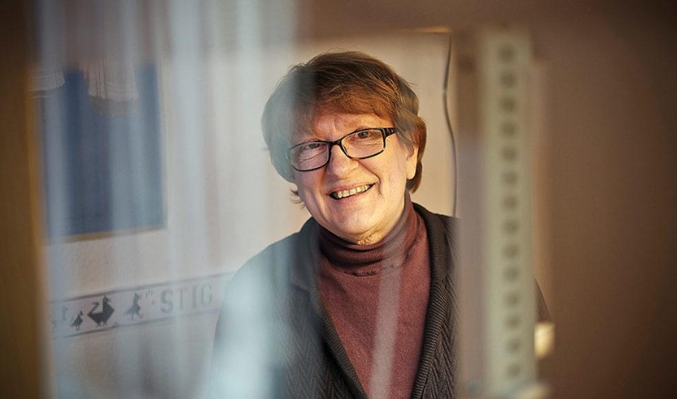 För Gunvor Johansson har liturgin fått en särskilt betydelse när hon började väva liturgiska kläder.