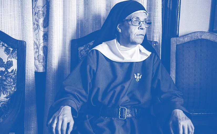 Klostret blev Syster Karins fönster mot världen