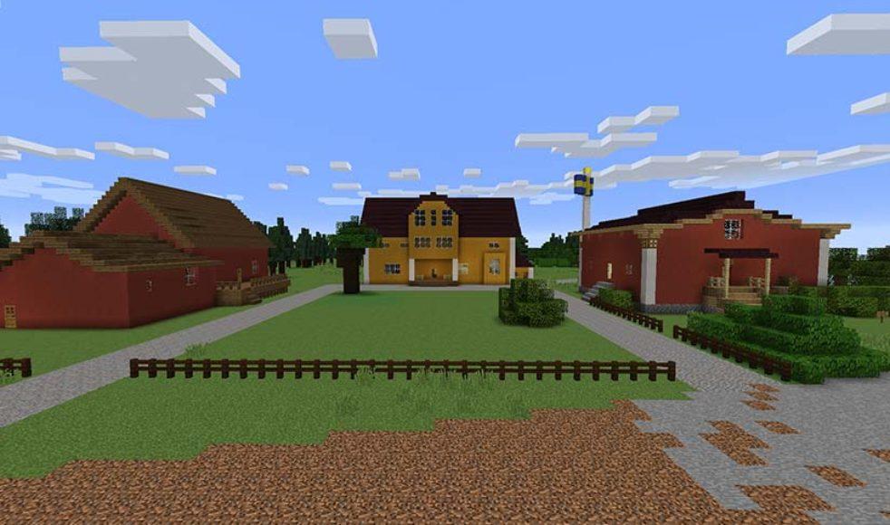 Familjen Jakobssons gård i Mossebo där Patrullriks kommer att hållas i sommar.