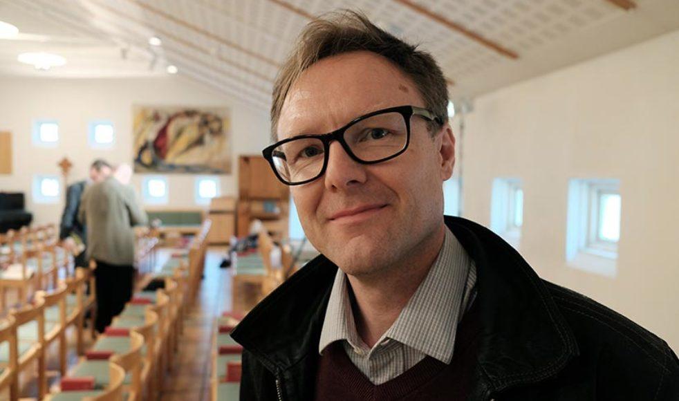 Magnus Skredsvik, besökare, präst i Örby-Skene församling