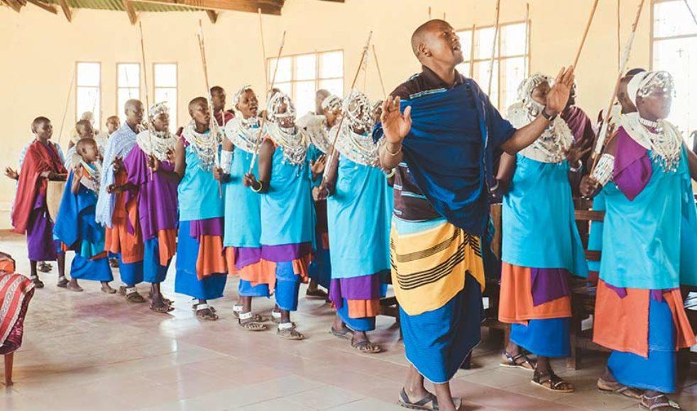 Massajerna är en folkgrupp som lever i södra Kenya och i norra Tanzania. De är semi-nomader. Traditionellt är de boskapsskötare och varken jagar eller äter vilt kött.