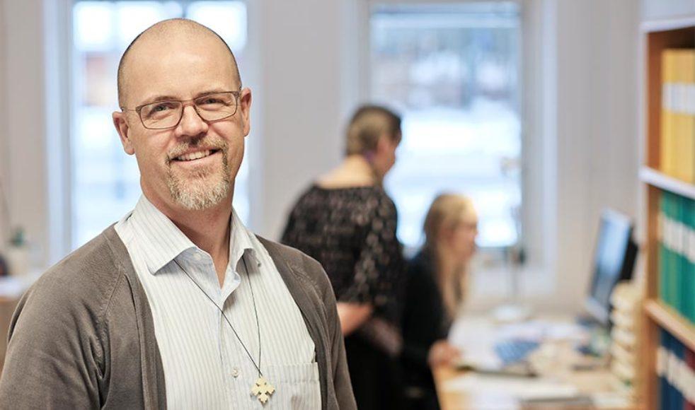 Erik Johansson, EFS internationell missionssekreterare.