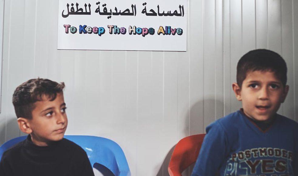 Barns rättigheter fortsätter vara fokus i Efs sammarbete med den irakiska organisationen Capni.