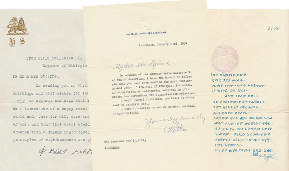 I bokens brevförteckning finns 55 brev, varav många återgivna i bild.