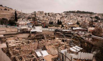 Bibelns berättelser blottläggs i Davids stad
