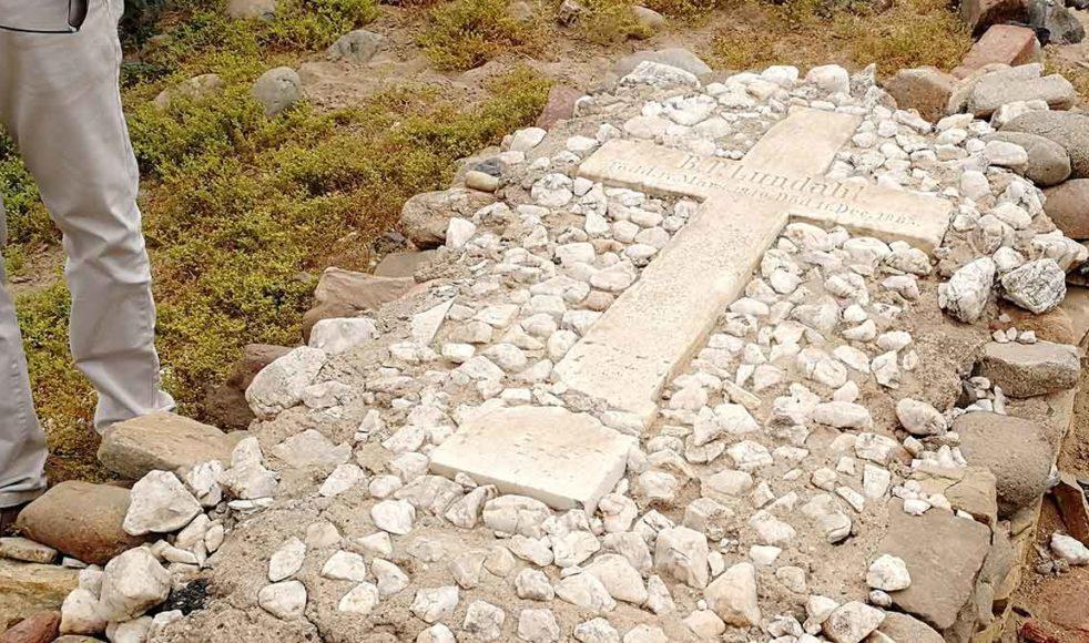 B. P. Lundahl var en av de tidiga missionärerna i Eritrea och ligger begravd i Imkullu.