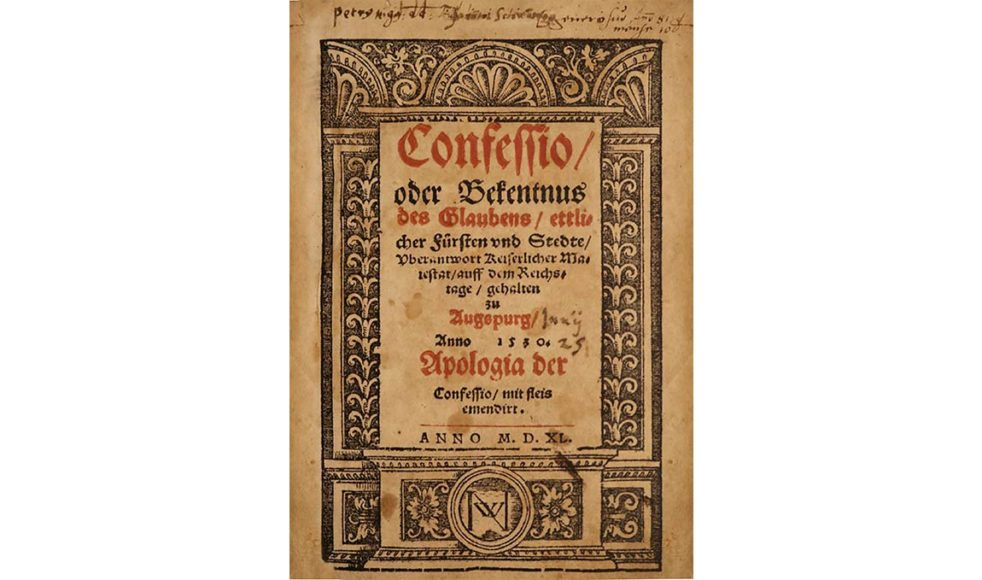 Genom Uppsala möte i mars 1593 erkändes Confessio Augustana officiellt som Svenska kyrkans bekännelse. Ett beslut som fortfarande gäller.