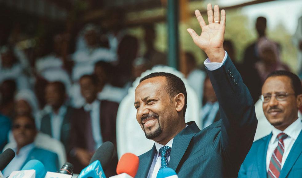 Abiy Ahmed, Etiopiens nye premiärminister.