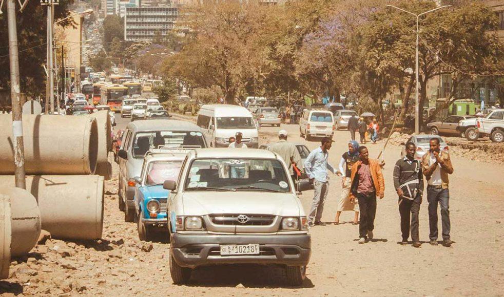 Efter år av konflikter och polisvåld hoppas folket i Etiopien på ljusare tider.<br><i>Bild: Sofie Siverman</i>