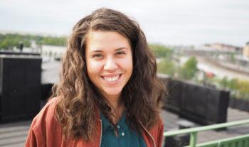 Amanda vikarierar som generalsekreterare för Salt