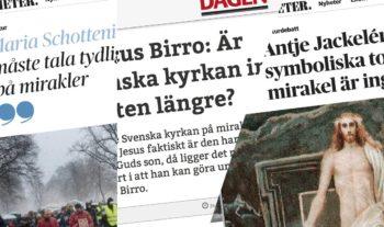 Het mirakeldebatt i Dagens Nyheter