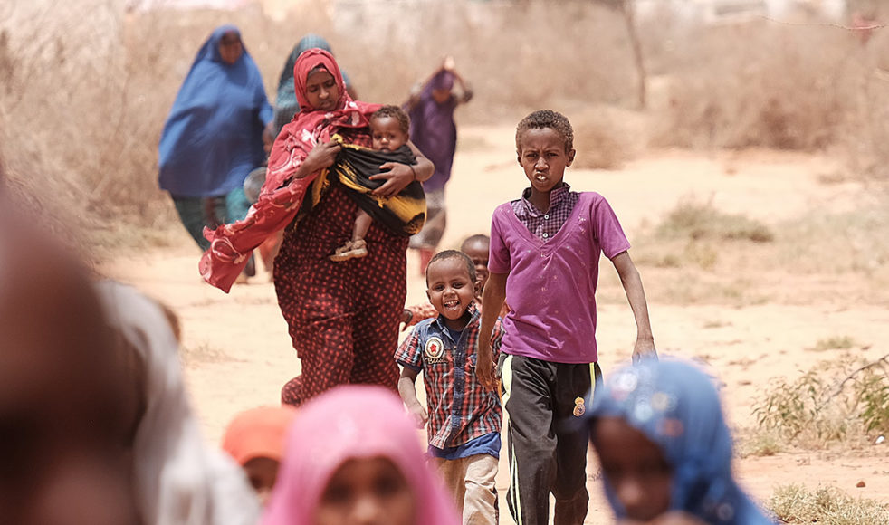 I flyktinglägret utanför Hargeisa bor cirka 3 600 människor och läget är kritiskt efter torkan som tagit all boskap.