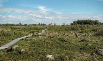 Roverscouterna på vandring i Sveriges nordligaste skärgård