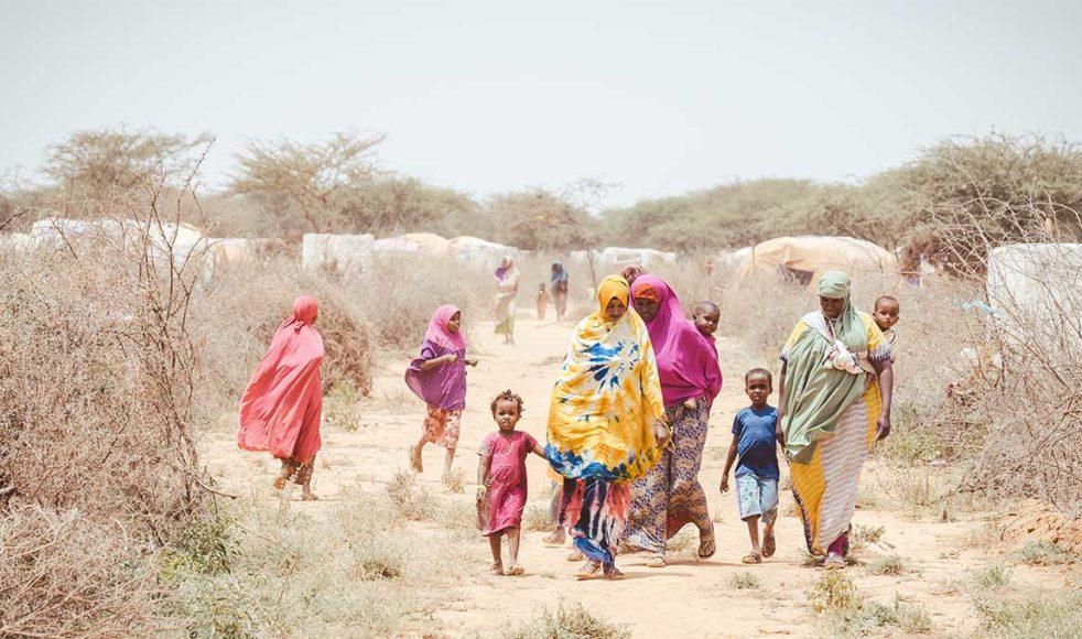 Genom hjälporganisationen Warsan bistår EFS med mat till ett internflyktingläger utanför Hargeisa i Somaliland. Men i dagsläget räcker hjälpen bara till 70 av de cirka 600 familjer som bor där. Med mer resurser skulle EFS enkelt kunna hjälpa fler.