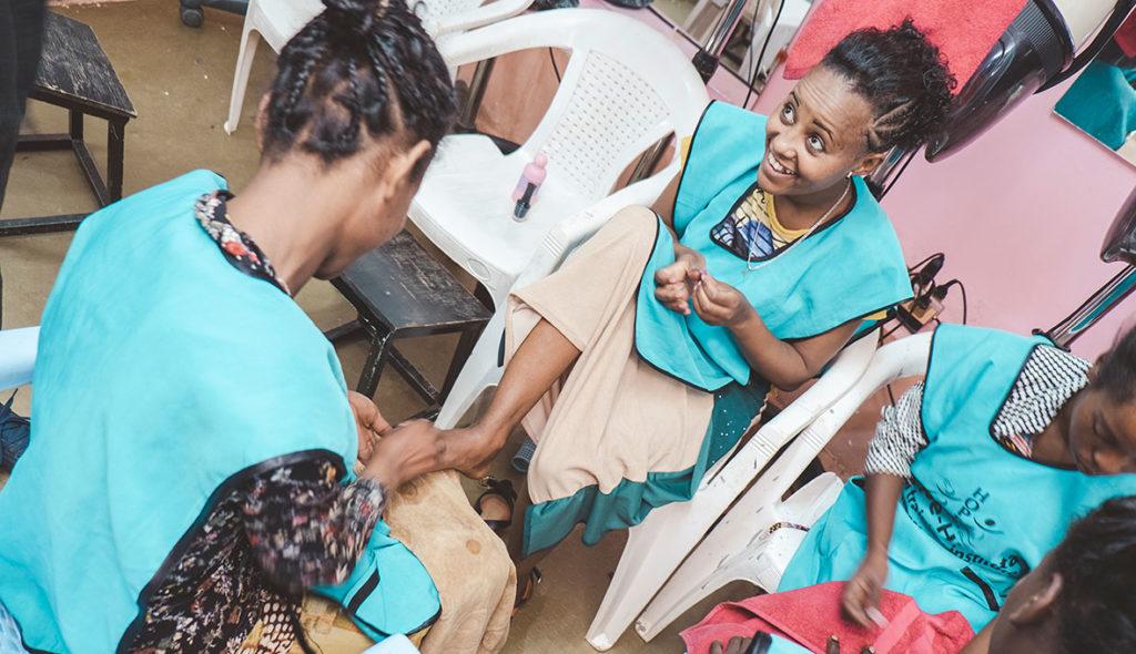 Adanech Nega Hope for children Etiopien