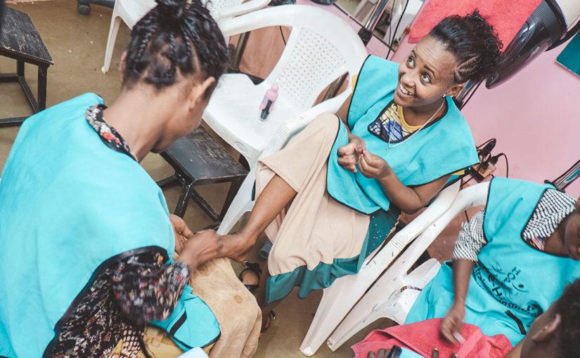 Bildreportage: Nytt hopp för Etiopiens utsatta