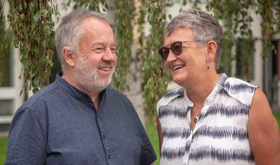 Gunnar och Monica Edmark