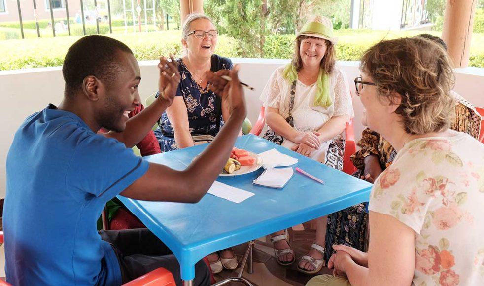 I två veckor fick 23 barnledare och missionsintresserade från Salt och EFS uppleva Bial på nära håll. Bild: Sofia Svensson
