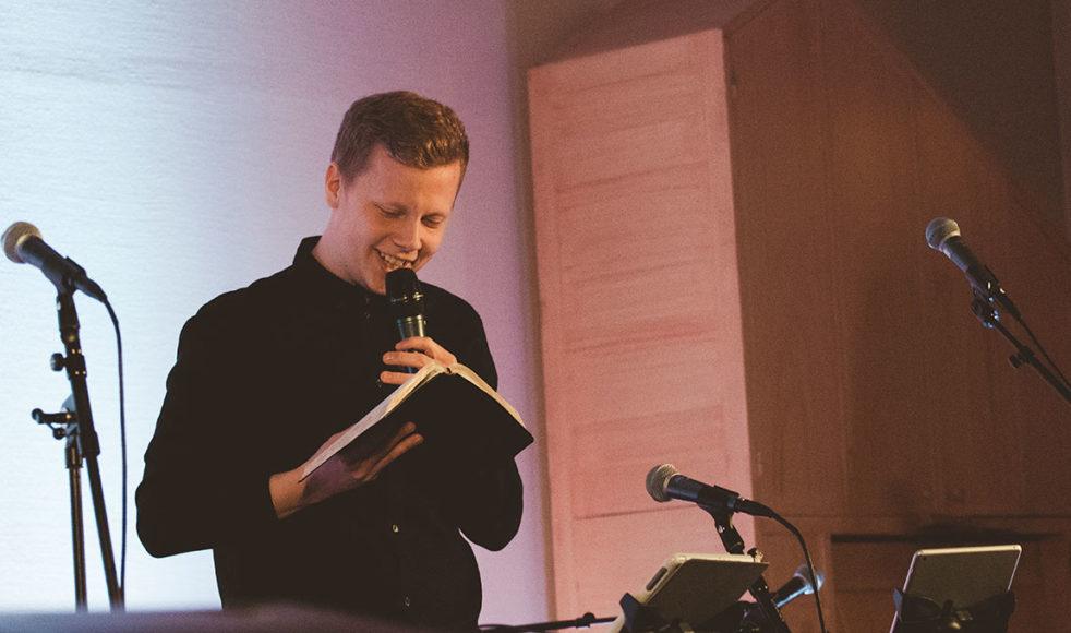 Tobias Lindström premiärpredikade på årets Livskraft Polar.