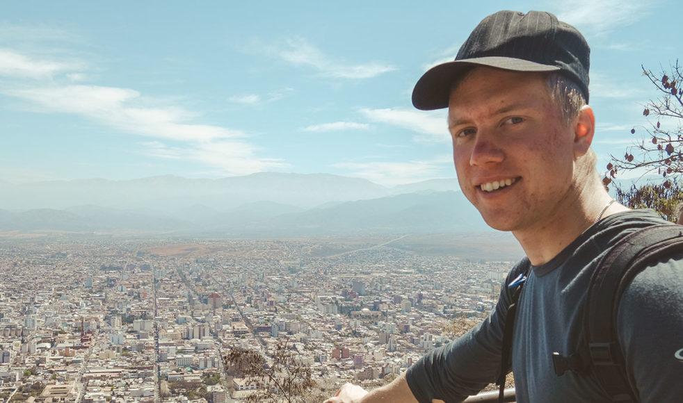 Med tacksamhet och glädje ser Benjamin Ahlgren tillbaka på sin tid som volontär.