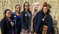Girlpower när Johannelund var i dialog med Afrika