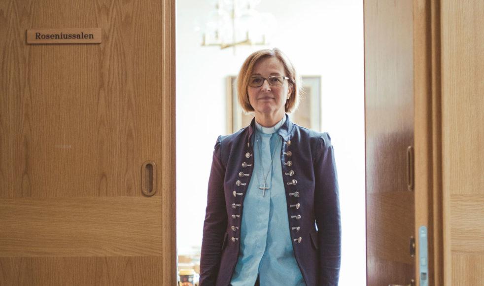 Varken rollen som distriktsföreståndare eller prästämbetet var självklara vägval, men ändå har vartenda steg varit orkestrerat av Gud, berättar Mia Ström.