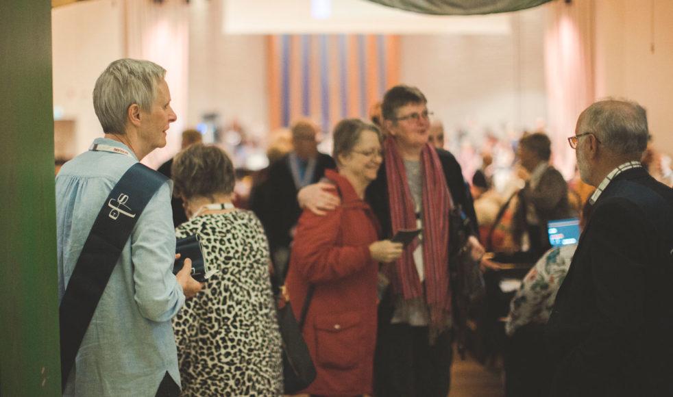 Gudstjänsterna under årskonferensen hölls i Pingstkyrkan i Örnsköldsvik.