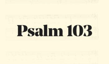 103: Bereden väg för Herran