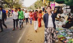 Bildreportage: Kerstin Oderhem i Indien