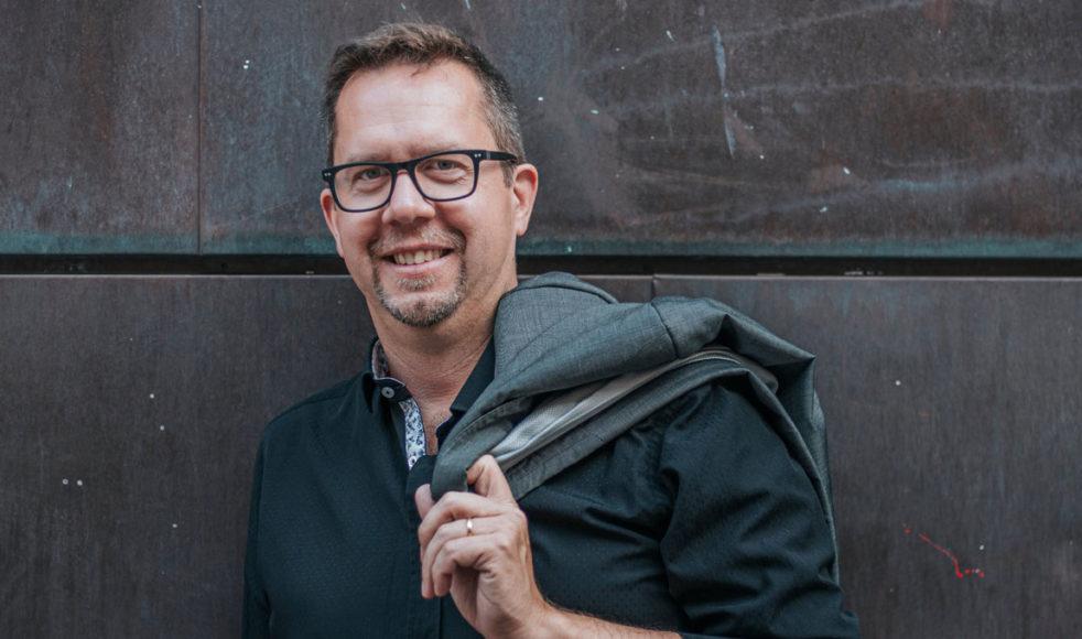 Jonas Engström tilldelades han Utbultstipendiet 2019 för sitt gedigna arbete som körledare. Bild: Hans Orre