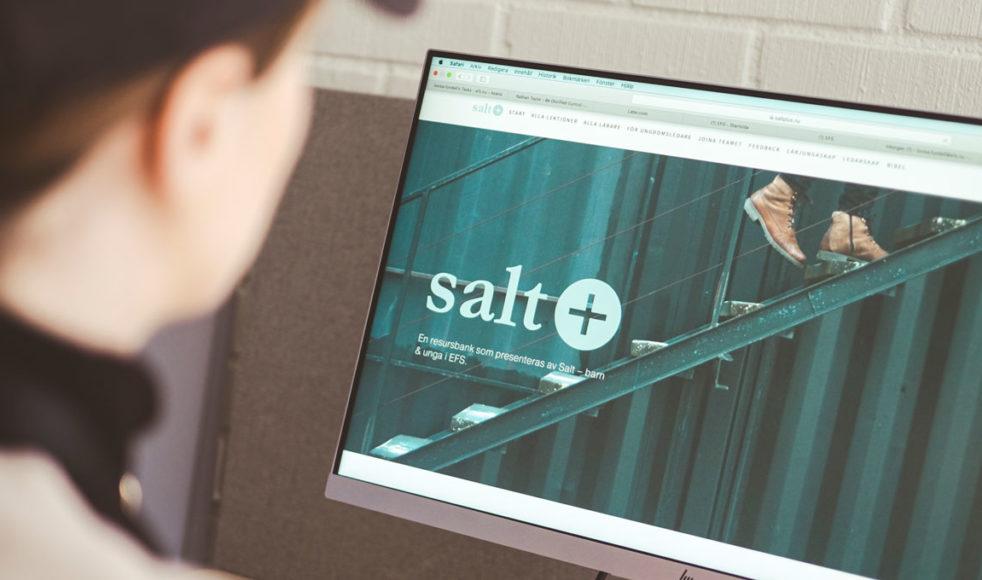 Salt+ är en digital resursbank som erbjuder gratis undervisning kring tre olika teman: lärjungaskap, ledarskap och Bibel.