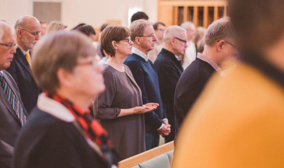 EFS ökar i antal gudstjänstbesökare, visar rapporten från SST – myndigheten som fördelar statliga bidrag till trossamfunden och som även för statistik över antalet betjänade i respektive trossamfund. Bild: Jonatan Knutes