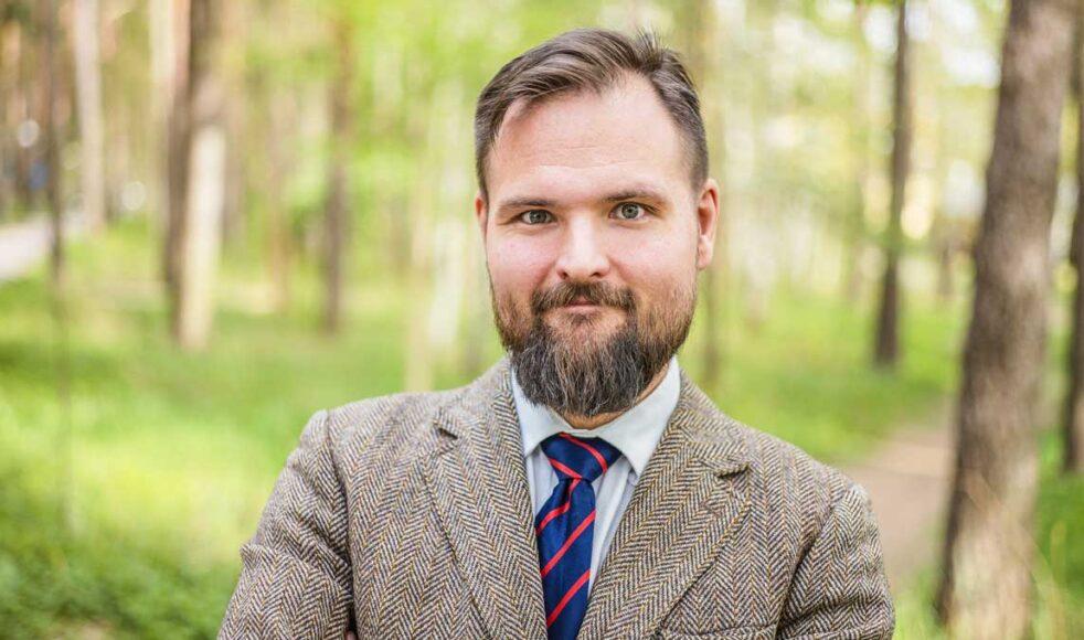 Advokat Andreas Stenkar Karlgren. Bild: Johan Ericson