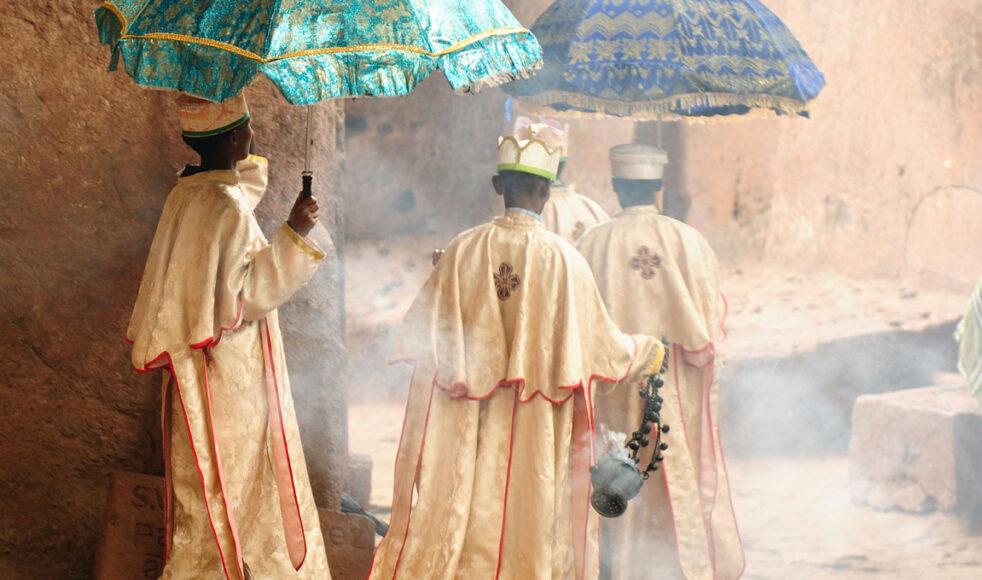 Kristendomen i Etiopien tros ha börjat med att en del etiopiska judar konverterade på 200-talet.