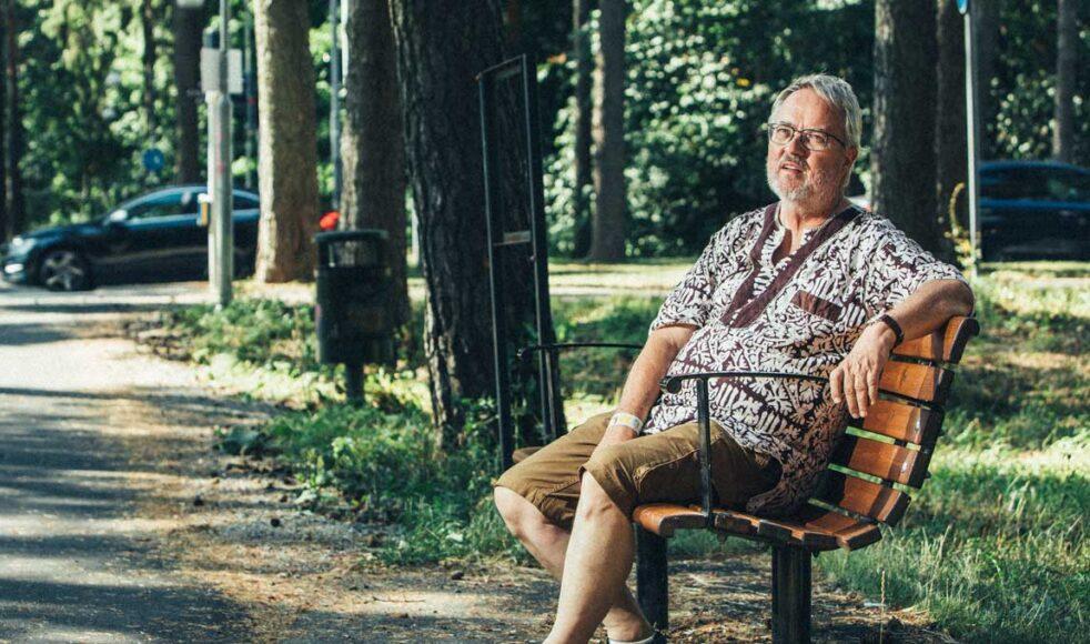 – Min kropp är visserligen i Sverige men själen i Tanzania, säger Ulf.
