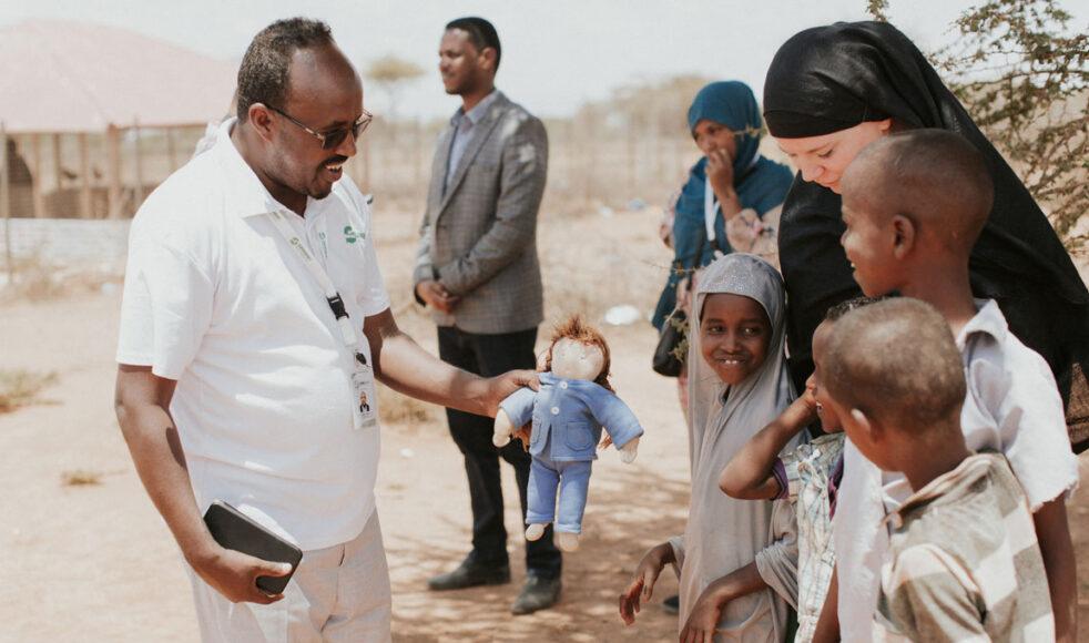 Dr Khadar Abdilahi som är läkare för Warsan vill skapa förutsättningar för småföretagande för kvinnor i Balli Mataan.