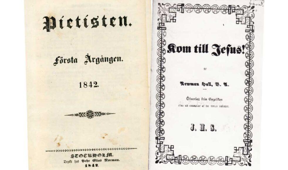 Traktat med rubriken »Kom till Jesus«, tryckt i 316 000 exemplar.