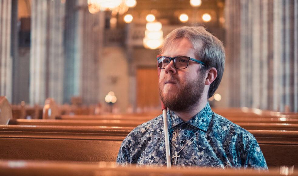 Linus betonar att det är tron och lärjungaskapet som ska spela roll i kyrkan, ingenting annat.  – Att Gud använder mig med mina förutsättningar kan bli ett vittnesbörd för någon att Gud kan använda den personen också.