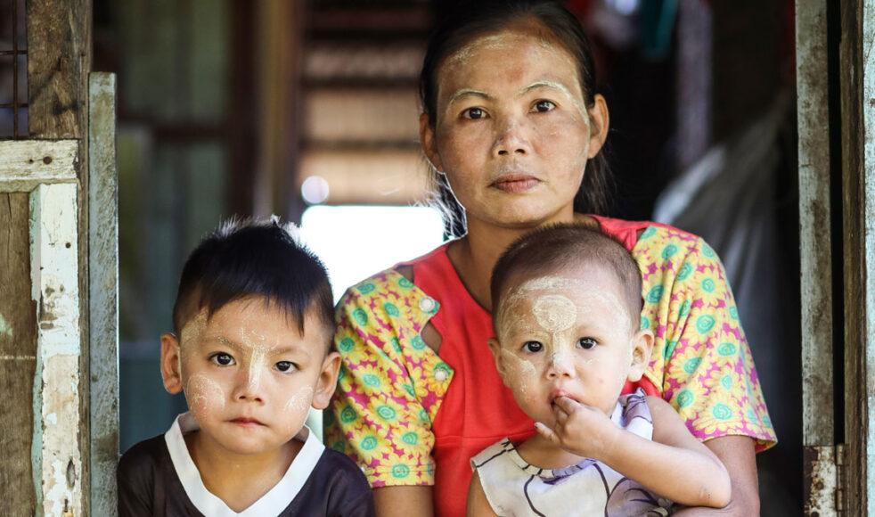 Läget är kritiskt i Myanmar efter militärkuppen och nu har många familjer inte råd att handla mat. Bild: Magdalena Vogt