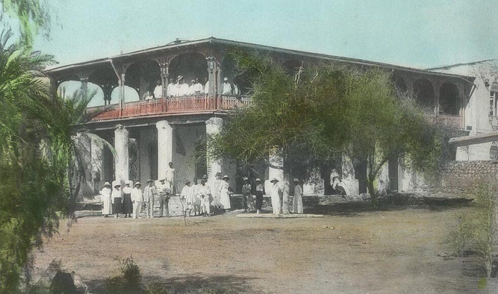 Missionsstationen i Monkullo i dagens Eritrea stod klar 1879.
