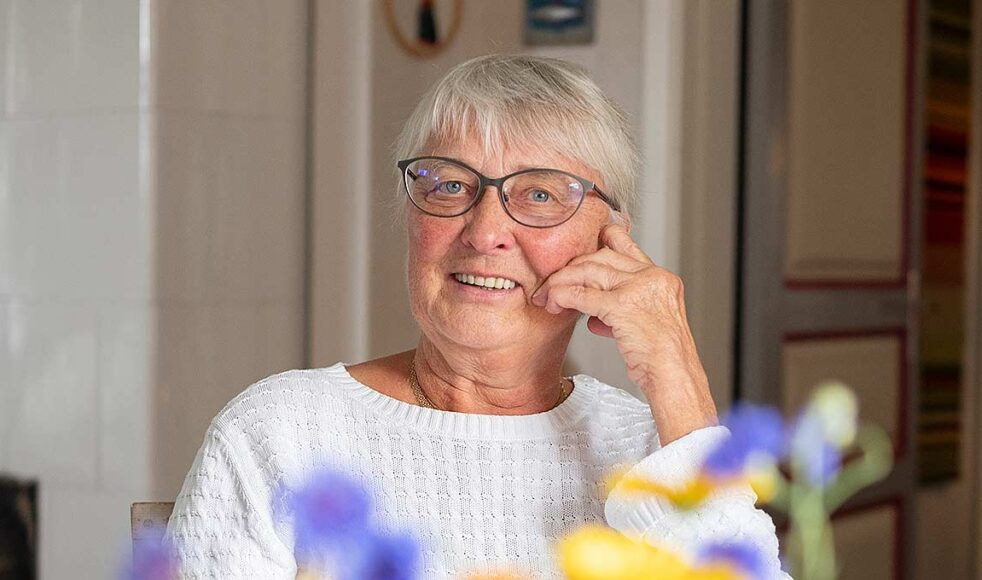 EFS Delsbo växte igen efter att Maj-Britt lyckats värva över några medlemmar från syföreningen till EFS.  – Då blev vi snabbt ett tiotal som sydde för missionen, säger hon.
